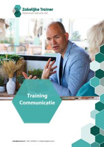 Brochure Training Communicatie