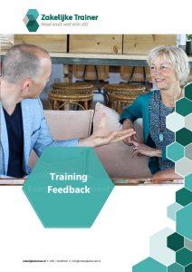 Brochure Training Feedback