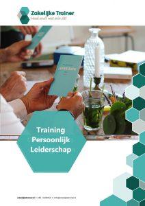 Brochure Training Persoonlijk Leiderschap