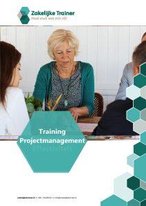 Brochure Training Project- <br/>management