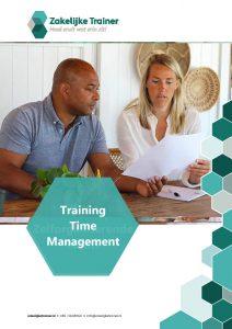 Brochure Time Management Training