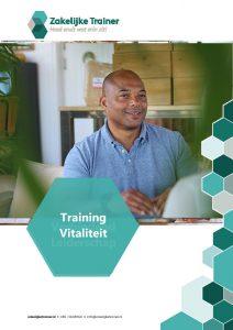 Brochure Training Vitaliteit