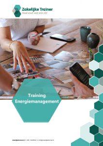 Brochure Training Energie-<br/>management