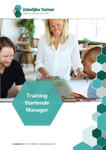 Brochure Training Startende Manager