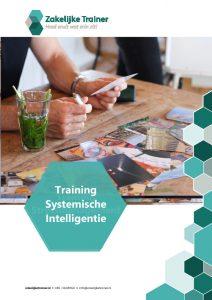 Brochure Training Systemische Intelligentie