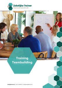 Brochure Training Teambuilding
